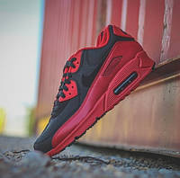Кроссовки Nike Air Max 90 x PRM Gym Red Black - 1380