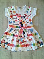 Трикотажное детское платье Минни 11119 Турция