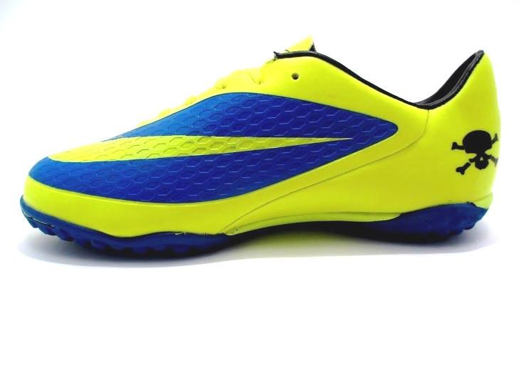 Футбольные сороконожки Nike HyperVenom Phelon TF Yellow/Blue/Black