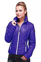 Фиолетовая курточка на молнии