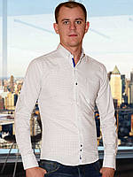 Мужская рубашка (Белый)