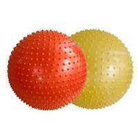 Мяч для фитнеса массажный (фитбол с шипами) 65 см