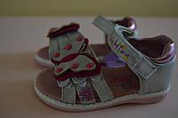 Босоножки сандалии детские на девочку 20 размер. Детская летняя обувь. Обувь для девочки лето