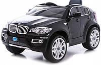 Электромобиль T-791 BMW X6 BLACK джип на р.у. 2*6V7AH с MP3 117*73.5*59 /1/