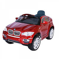 Электромобиль T-791 BMW X6 RED джип на р.у. 2*6V7AH с MP3 117*73.5*59 /1/