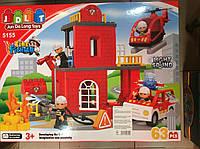 Конструктор Пожарная станция JDLT 5155