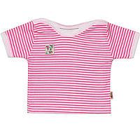 Детская футболка  (Розовый)