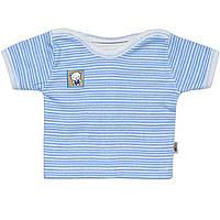 Детская футболка  (Голубой)