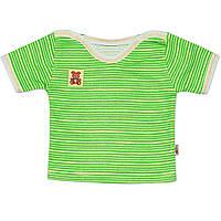 Детская футболка  (Зеленый)