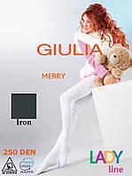 Детские махровые колготки 250DEN (Iron (Серый))