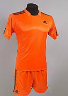 Футбольная форма игровая Adidas Orange (Адидас оранжевая)