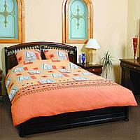 Комплект постельного белья ТЕП (Оранжевый)