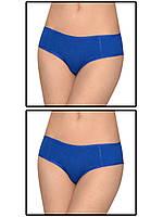 Набор женских трусов мини шорт - 2 шт. (Синий)