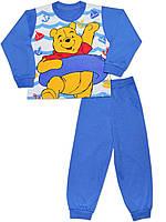 Детская пижама (кофта и брюки) (Голубой)