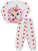 Детская пижама (кофта и брюки) (Белый)