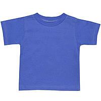 Детская футболка  (Синий)