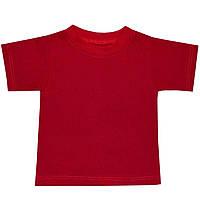 Детская футболка  (Красный)