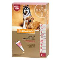 Bayer Advocate (Байер Адвокат), 3 пипетки (10-25 кг)