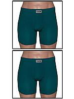 Набор мужских трусов боксеров (шортов) - 2 шт. (Темно зеленый)