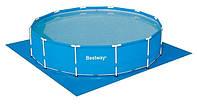 BW Бассейн каркасный 56308 круглый 427-100 см.,фильтр-насос грубой очистки