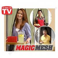 Москитная сетка на магнитах  Magic Mesh (Базз Офф)