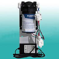 Насос (помпа) 50-75GPD-24v, для фильтра очистки воды обратного осмоса на кронштейне в сборе