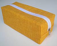 Сумочка - органайзер, желтая.