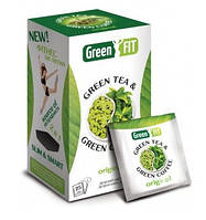 Чай + кофе зеленый пакетированный Green Fit для похудения 25 пакетиков