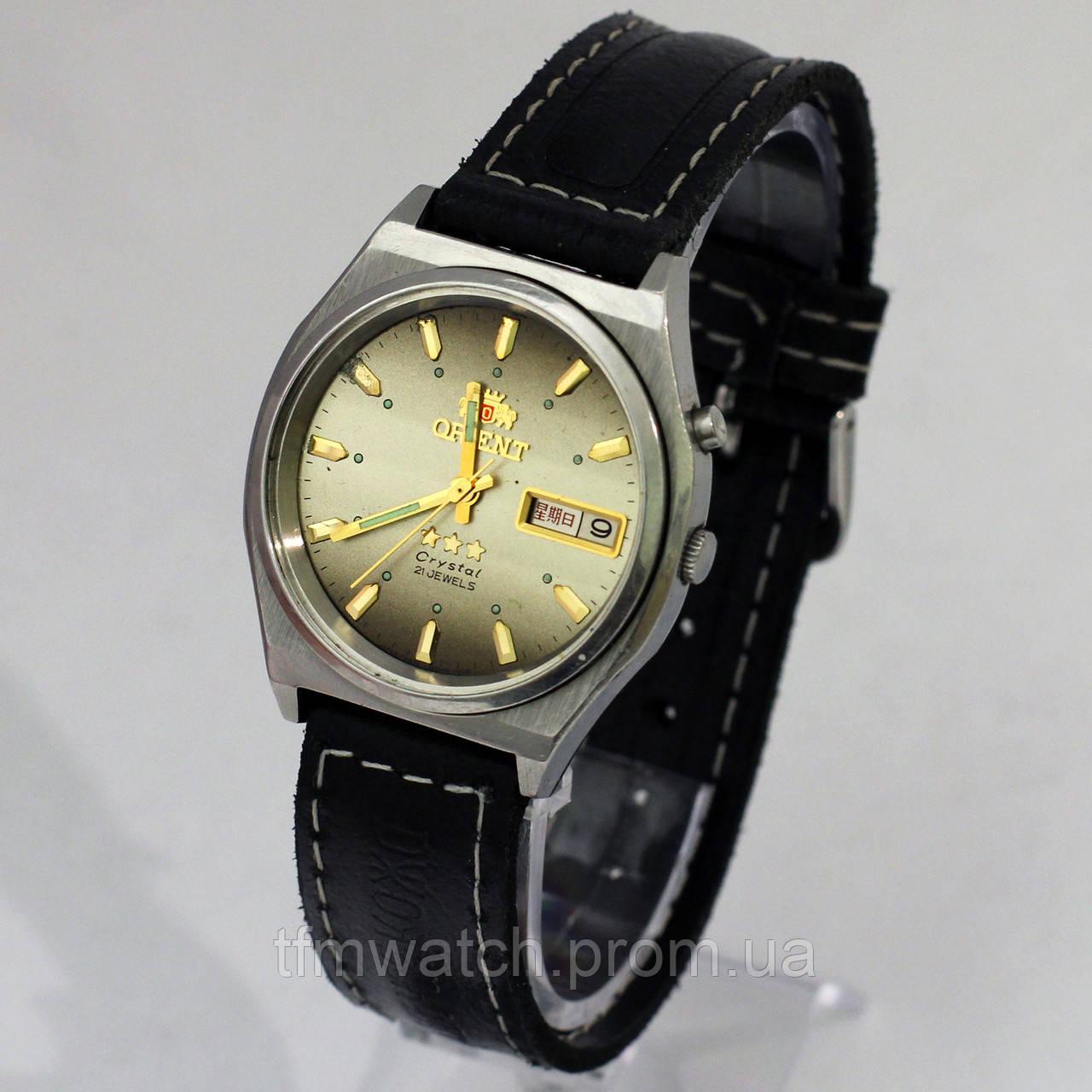 Механические часы Ориент 3 звезды