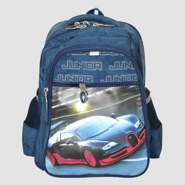 шкільний рюкзак з машинкою