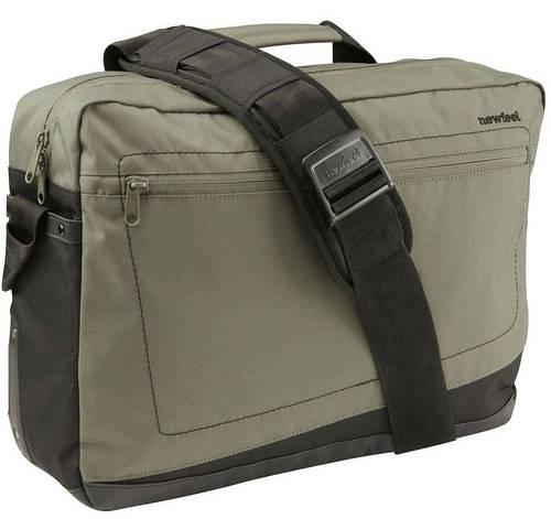 """Сумка-рюкзак функциональная для ноутбука 15,4"""" 20 л. NEWFEEL BACKENGER 1ST 1650745 хаки"""
