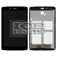 Дисплей для планшета LG G Pad 7.0 V400, черный, с cенсорным экраном