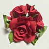 """Букет """"Розы красные"""" d160 3шт. (код 04533)"""