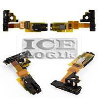 Шлейф для мобильных телефонов Sony C5502 M36h Xperia ZR, C5503 M36i Xperia ZR, коннектора наушников,