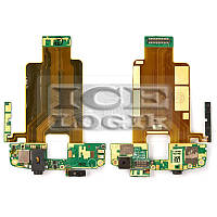 Шлейф для мобильного телефона HTC T8282 Touch HD, камеры, кнопки включения, коннектора наушников, бо