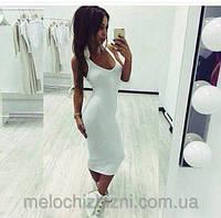 Облегающее мини платье-майка БОРДО КОРОТКОЕ 42