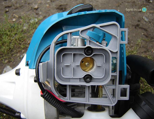 Мотокоса Sadko GTR-430N - дроссельная заслонка фото 6
