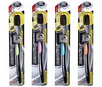 Charcoal Thoothbrush Зубная щетка с бамбуковым напылением и Cупер тонкой щетиной RBA /55