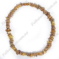 Ожерелье из натурального янтаря