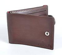 Кожаный кардхолдер с зажимом для купюр, код 19-76