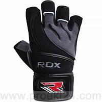 Перчатки для фитнеса RDX Pro Lift Black-L