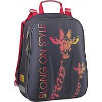 Школьный рюкзак каркасный Kite Animal Planet 531-1