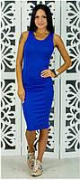 Платье-майка Борцовка р.S-M синий