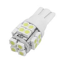 Светодиодная лампа цоколь Т10 (W5W) 30-SMD 3014, 12В