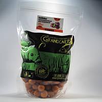 Бойлы Grandcarp Attract прикормочные раствор. Слива 24 мм  1 кг