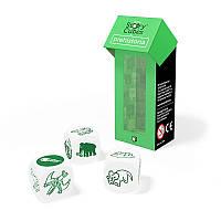 """Настольная игра """"Кубики историй Rory's Story Cubes: Расширение """"Динозавры"""" (3 кубика)"""