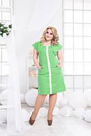 Платье женское  батал , фото 1