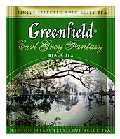 Чай Гринфилд черный Earl Grey Fantasy 100 пакетиков ХоРеКа