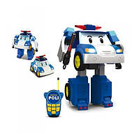 Трансормер робот Поли на радиоуправлении Robocar Poli 83185 EUT/00-7941