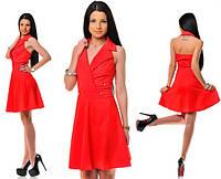 Платье женское воротник, фото 1